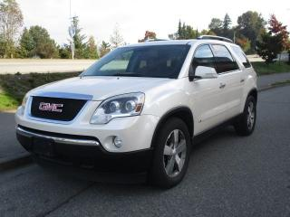 Used 2009 GMC Acadia SLT2 for sale in Surrey, BC