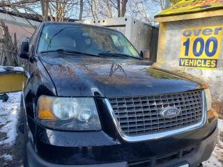 Used 2004 Ford Expedition XLT/4WD/LEATHER/SUNROOF/8PASSENGER/GOOD CONDITION for sale in Scarborough, ON