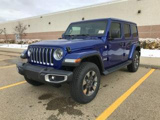 New 2018 Jeep Wrangler Unlimited Sahara 4X4 for sale in Edmonton, AB