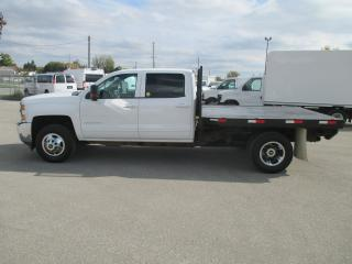 Used 2016 Chevrolet Silverado 3500 CREW CAB.FLAT BED.DUAL REAR WHEELS for sale in London, ON