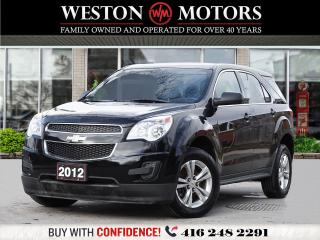 Used 2012 Chevrolet Equinox LS*POWER GROUP*LEATHER*BLUETOOTH!!* for sale in Toronto, ON