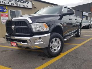 Used 2016 Dodge Ram 2500 Outdoorsman-6.7L DIESEL-CREW CAB-4X4 for sale in Tilbury, ON