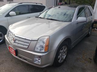 Used 2006 Cadillac SRX V6/AWD/LEATHER/PANORAMA ROOF/HEATED SEATS for sale in Scarborough, ON