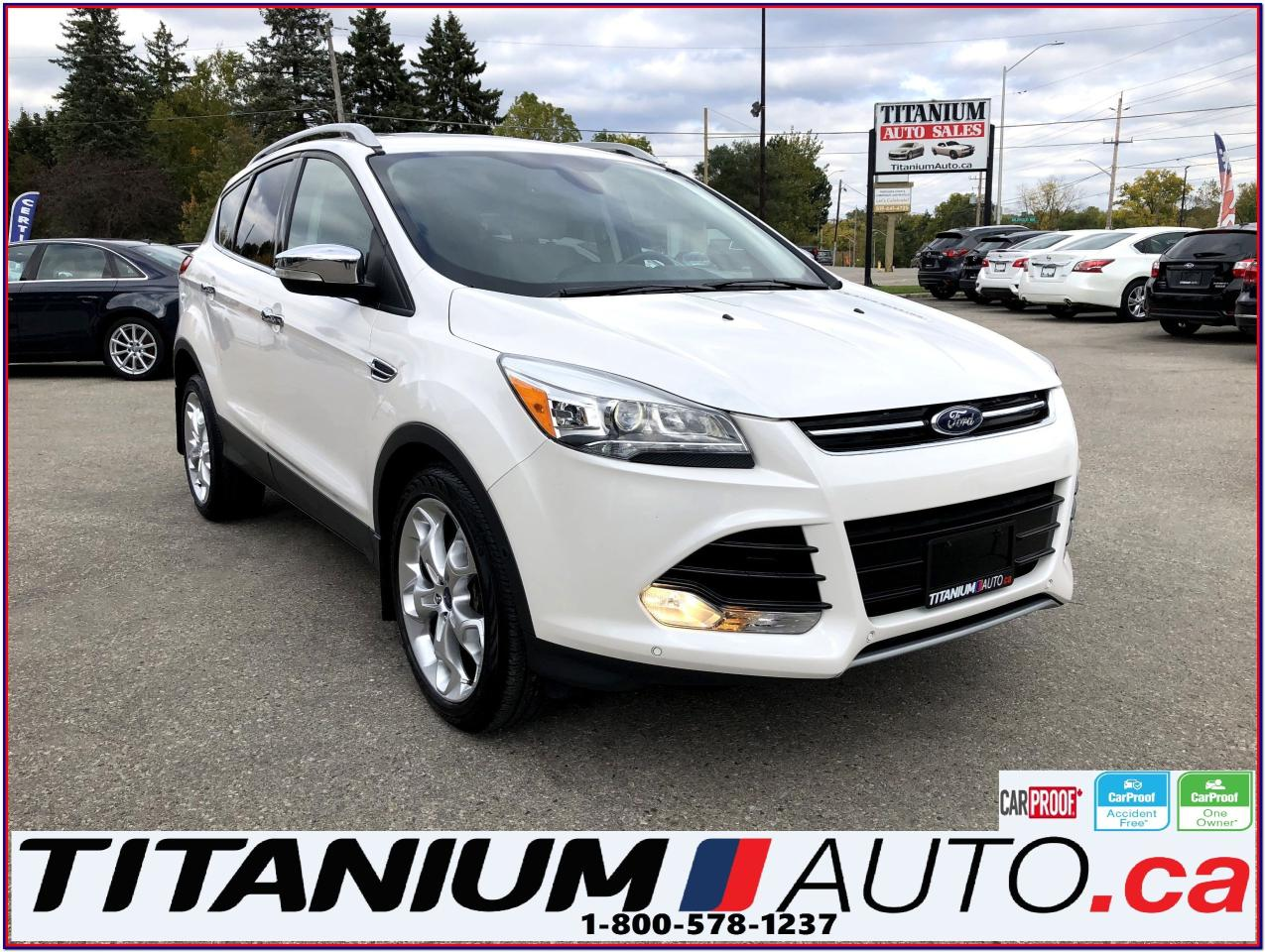 2015 Ford Escape Titanium-4WD-GPS-Camera-Pano Roof-Blind Spot-Leath