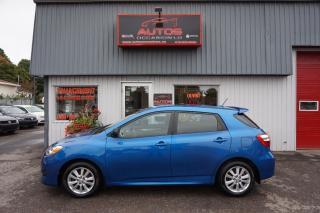 Used 2010 Toyota Matrix Touring for sale in Lévis, QC