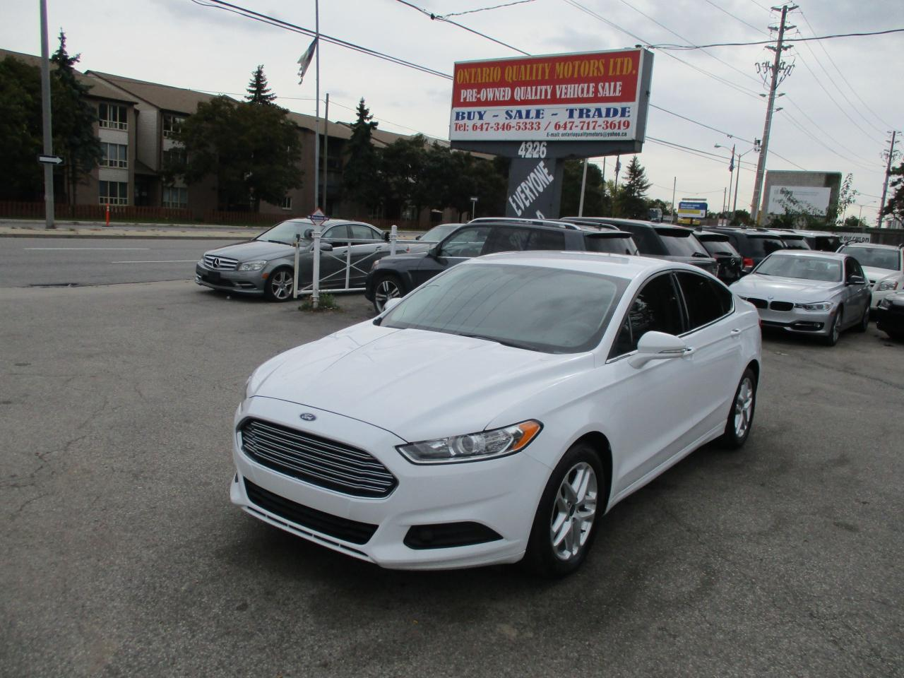Used 2014 Ford Fusion Se For Sale In Toronto Ontario