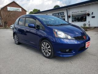 Used 2014 Honda Fit Sport for sale in Waterdown, ON
