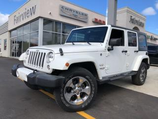 Used 2016 Jeep Wrangler Unlimited Sahara..Auto   Navigation   Heated Seats for sale in Burlington, ON
