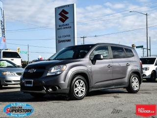 Used 2012 Chevrolet Orlando 1LT ~7 Passenger ~Alloy Wheels ~Very Clean for sale in Barrie, ON