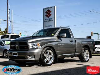 Used 2011 RAM 1500 R/T ~Nav ~Backup Cam ~Power Driver Seat for sale in Barrie, ON