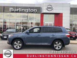 Used 2012 Toyota Highlander V6, wow only 53,000 km's...ACCIDENT FREE ! for sale in Burlington, ON