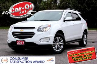 Used 2017 Chevrolet Equinox 1LT AWD SUNROOF REAR CAM HTD SEATS LOADED for sale in Ottawa, ON