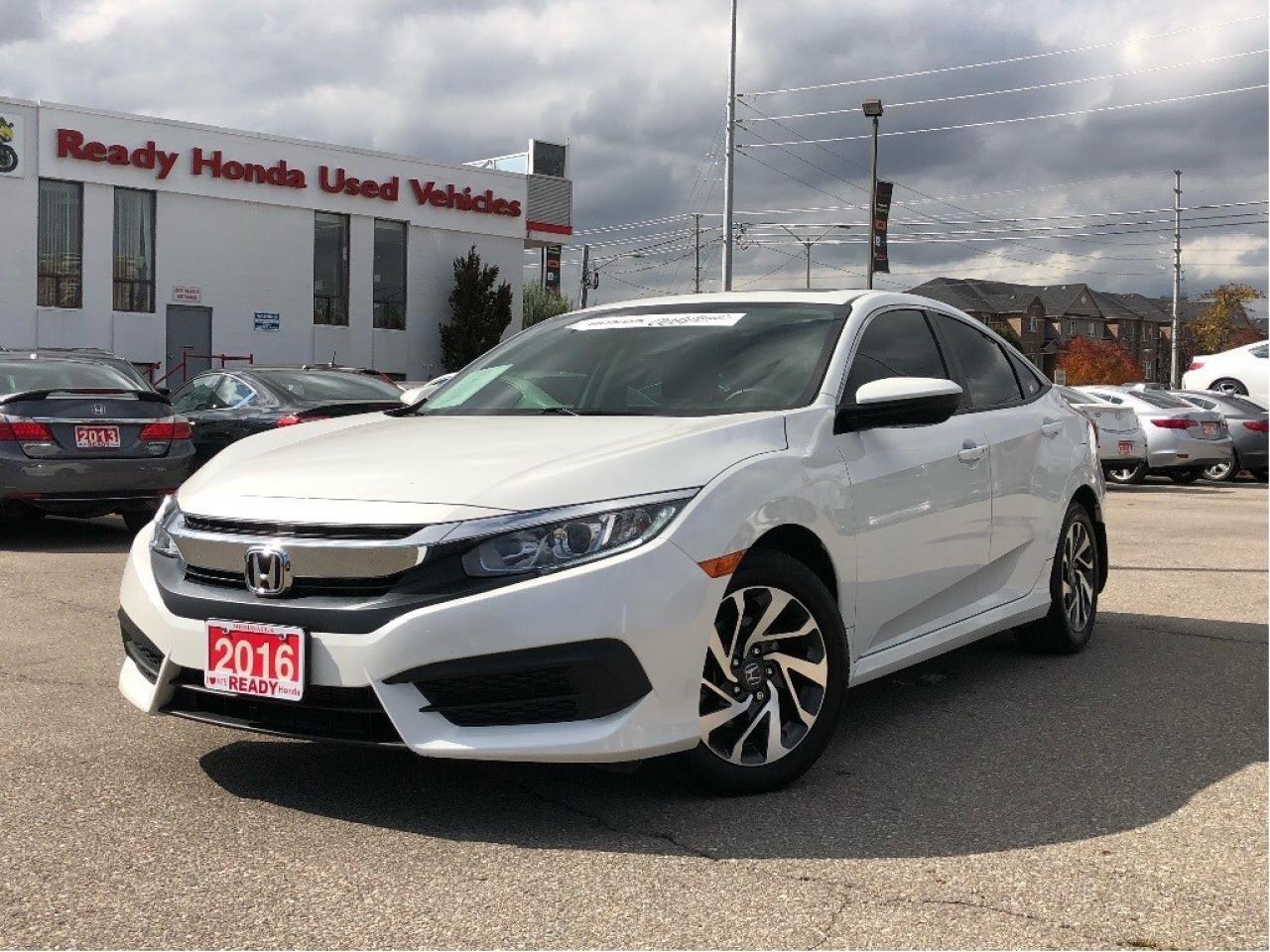 2016 Honda Civic Sedan EX  - Sunroof - Rear Camera - Lane Watch