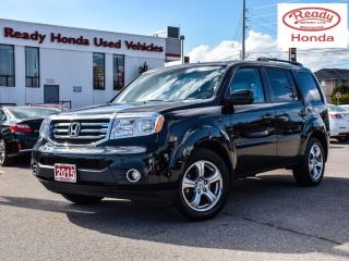 Used 2015 Honda Pilot EX-L RES - Leather - DVD - Sunroof for sale in Mississauga, ON
