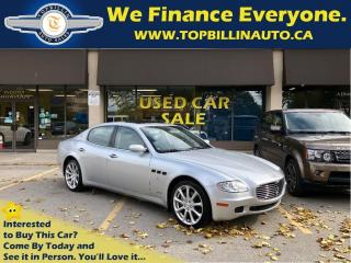 Used 2006 Maserati Quattroporte Only 44K kms, Extra Clean for sale in Vaughan, ON