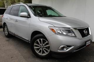Used 2014 Nissan Pathfinder SL 4WD Navi Back camera & senser Leather Heated 7pass Blueto for sale in Mississauga, ON