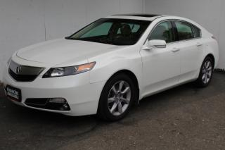 Used 2014 Acura TL w/Tech Pkg Navi Back camera Sunroof Leather Heated for sale in Mississauga, ON