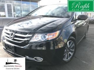 Used 2015 Honda Odyssey Touring-Beautiful maintenace records for sale in North York, ON