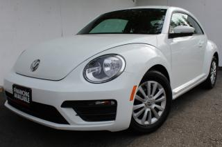 Used 2017 Volkswagen Beetle Classic Coupe Auto Back Camera Heated seats Bluetooth for sale in Mississauga, ON