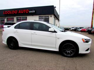 Used 2013 Mitsubishi Lancer ES LEATHER SUNROOF BLUETOOTH CERTIFIED WARRANTY for sale in Milton, ON