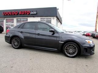 Used 2012 Subaru Impreza WRX WRX LIMITED AWD SUNROOF CERTIFIED 2YR WARRANTY for sale in Milton, ON