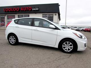 Used 2014 Hyundai Accent GS HATCHBACK BLUETOOTH CERTIFIED WARRANTY for sale in Milton, ON