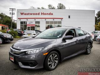 Used 2017 Honda Civic EX , Factory Warranty Until 2024 for sale in Port Moody, BC