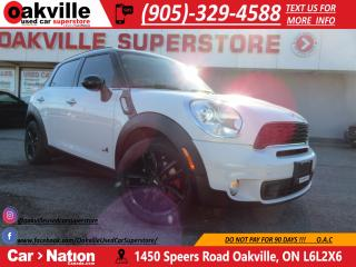Used 2014 MINI Cooper Countryman Cooper S ALL4 |PANO ROOF | LEATHER | NAVI | for sale in Oakville, ON