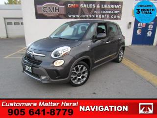 Used 2015 Fiat 500 L Trekking  NAVIGATION ROOF HEATED SEATS BLUETOOTH AUTO for sale in St. Catharines, ON