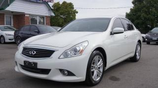 Used 2013 Infiniti G37 AWD * NAVI * BACK-UP CAMERA * LEATHER for sale in Woodbridge, ON