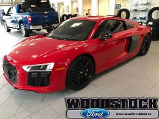 Used 2017 Audi R8 V10 plus  LEMANS PACKAGE, MAGNETIC RIDE for sale in Woodstock, ON