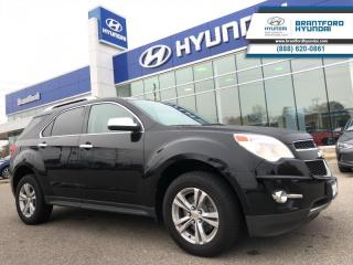 Used 2010 Chevrolet Equinox LTZ | 4-CYL | LEATHER | AWD  - Local - $114.96 B/W for sale in Brantford, ON