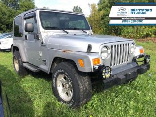 Used 2005 Jeep TJ AUTO | LOW KMS | AS-IS for sale in Brantford, ON
