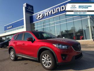 Used 2016 Mazda CX-5 GS  - Navigation -  Sunroof for sale in Brantford, ON
