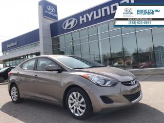 Used 2013 Hyundai Elantra LOW KMS! | GL | MANUAL | HTD SEATS  - One owner for sale in Brantford, ON