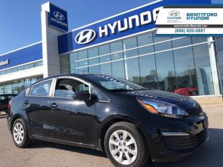 Used 2016 Kia Rio LX Plus | Manual  - One owner - Local for sale in Brantford, ON