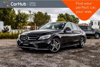 Used 2017 Mercedes-Benz C-Class C 300|4Matic|Navi|Pano Sunroof|Backup Cam|Bluetooth|Keyless|17