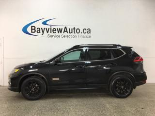 Used 2017 Nissan Rogue SV - ALLOYS! REM STRT! ROOF RACK! SUNROOF! PUSH BUTTON STRT! HTD STS! REV CAM! BLUETOOTH! SPORT MODE! for sale in Belleville, ON