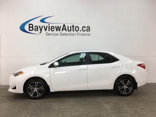 Used 2018 Toyota Corolla - ALLOYS! KEYLESS ENTRY! SUNROOF! HTD SEATS! HTD WHEEL! LDW! BLUETOOTH! REV CAM! ADAPTIVE CRUISE! for sale in Belleville, ON