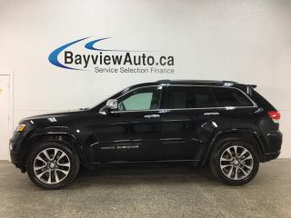 Used 2018 Jeep Grand Cherokee Overland - QUADRA-LIFT! REM START! PANOROOF! HTD/AC LTHR! NAV! PWR LIFTGATE! for sale in Belleville, ON