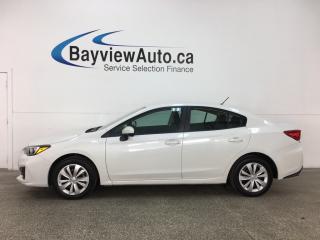 Used 2018 Subaru Impreza Convenience - AUTO! A/C! REV CAM! BLUETOOTH! CRUISE! for sale in Belleville, ON