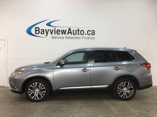 Used 2017 Mitsubishi Outlander GT - ALLOYS! SUNROOF! HTD LTHR! REV CAM! ADAPTIVE CRUISE! BSA! COLLISION WARNING! LDW! for sale in Belleville, ON