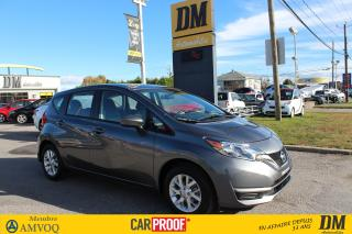 Used 2018 Nissan Versa Note 1.6 Sv Caméra De for sale in Salaberry-de-Valleyfield, QC