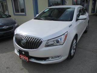 Used 2015 Buick LaCrosse LOADED CX EDITION 5 PASSENGER 3.6L - V6.. LEATHER TRIM.. HEATED SEATS.. BACK-UP CAMERA.. BLUETOOTH.. CD/AUX/USB INPUT.. for sale in Bradford, ON