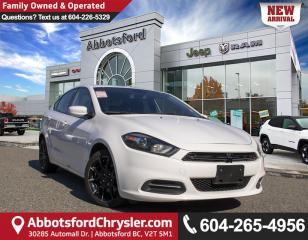 Used 2015 Dodge Dart SXT *ACCIDENT FREE* *LOCALLY DRIVEN* for sale in Abbotsford, BC