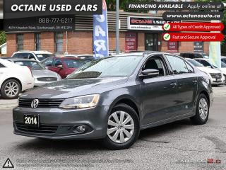 Used 2014 Volkswagen Jetta 2.0 TDI Trendline+ DIESEL! Has Service Records! for sale in Scarborough, ON