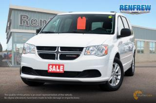 Used 2017 Dodge Grand Caravan CVP/SXT 2017 Dodge Grand Caravan SXT Plus minivan for sale in Renfrew, ON