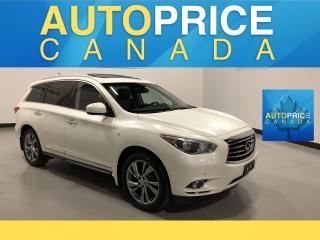 Used 2015 Infiniti QX60 NAVI|REAR CAM|LEATHER|DVD for sale in Mississauga, ON