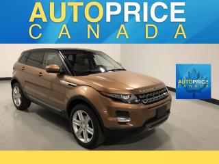 Used 2015 Land Rover Evoque Pure Plus NAVIGATION|PANOROOF|LEATHER for sale in Mississauga, ON