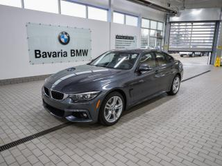 Used 2019 BMW 4 Series 430i xDrive Gran Coupe for sale in Edmonton, AB